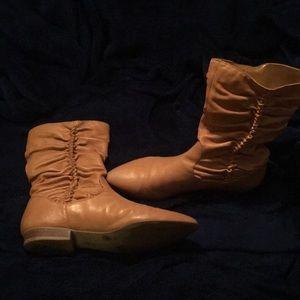 Jessica Simpson Camel Boots reposh